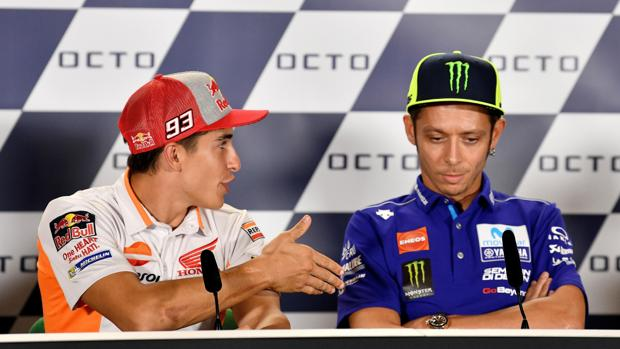 """Rossi: """"¿Cuándo me llevaré bien con Márquez? Dentro de unos 20 o 30 años"""""""