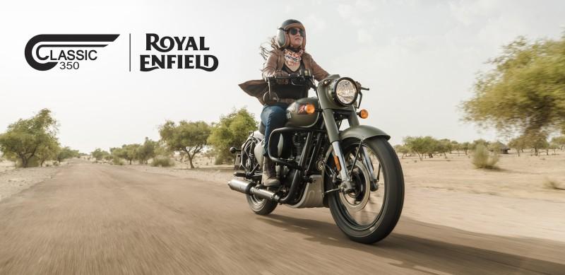 Nueva Royal Enfield 350 Classic