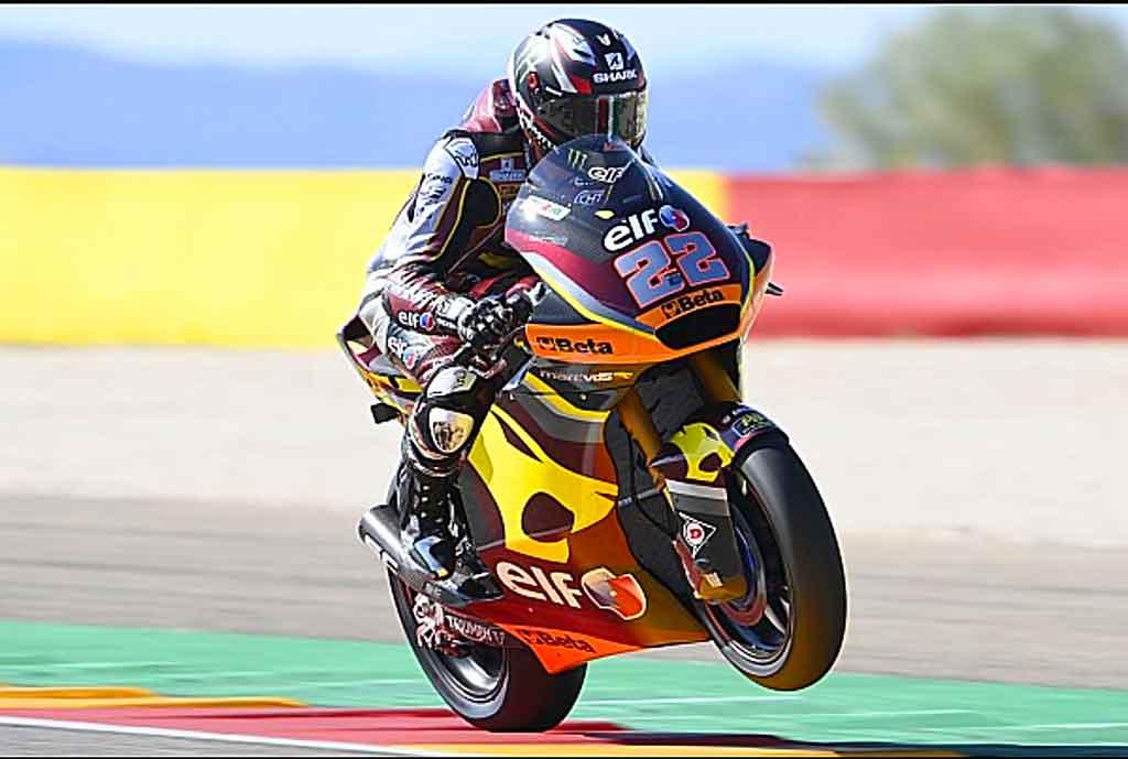 GP de Aragón 2021 pole Moto2