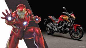 Yamaha MT-03 edición Iron Man